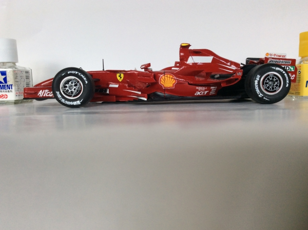 フェラーリ2007イギリスGP No.1