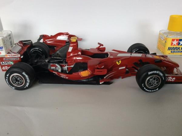 フェラーリ2007イギリスGP No.2