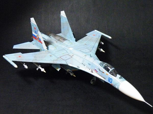ハセガワ 1/72 Su-27