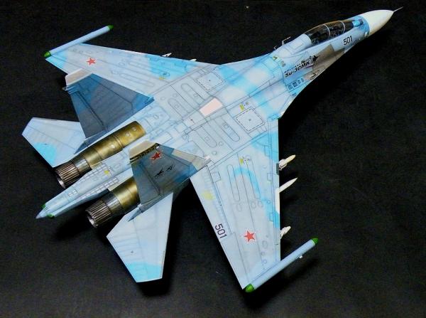 アカデミー 1/48 Su-30MK