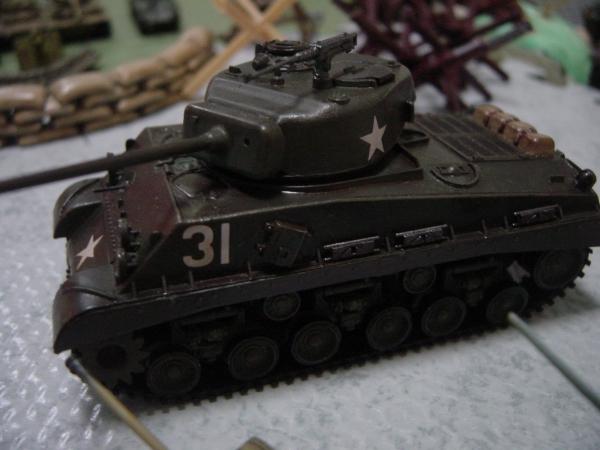 M4シャーマン 1/72 ハセガワ