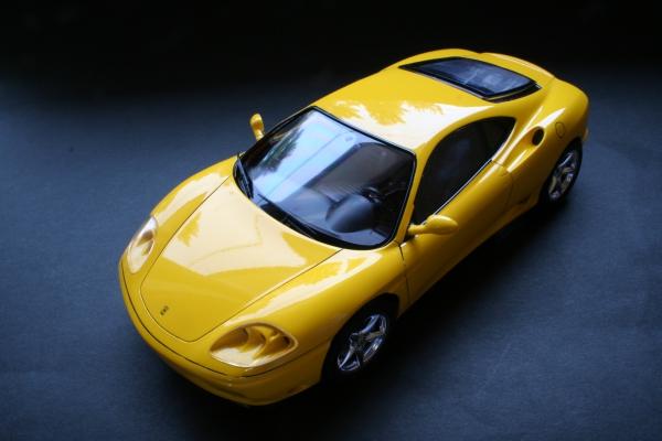 1/24 フェラーリ360 モデナ イエローバージョン
