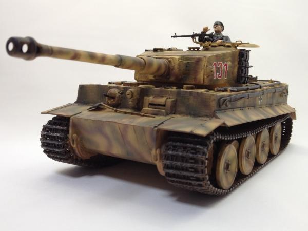 1/35 ドイツ重戦車タイガーI型(中期生産型)