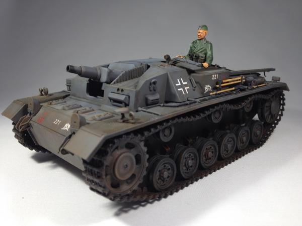 1/35 ドイツIII号突撃砲B型