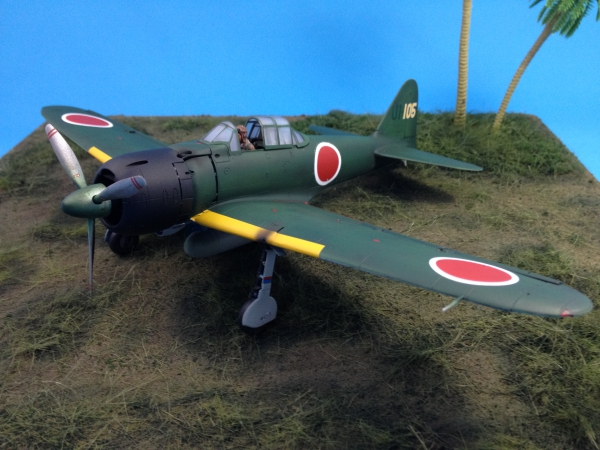 三菱 零式艦上戦闘機二二型/二二型甲。
