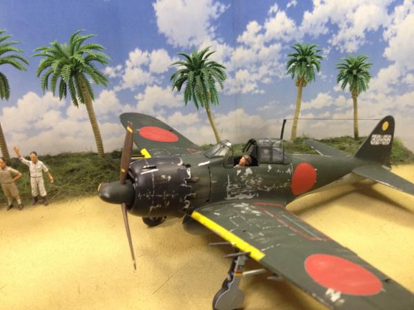 1/48 日本海軍零式艦上戦闘機52丙型 (A6M5c)