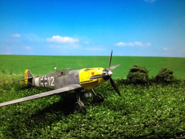 1/72 メッサーシュミット Bf109 E-4/7 TROP