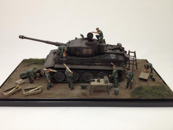 1/48タイガーⅠ初期生産型