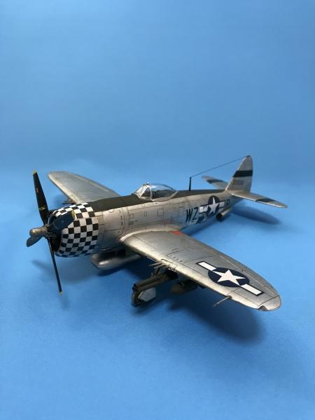 """タミヤ1/72 P-47D サンダーボルト""""バブルトップ"""""""