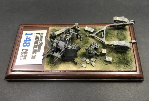1/48 ドイツ20mm 4連装高射機関砲38型