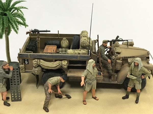 1/35 イギリス LRDGコマンドカー 北アフリカ戦線