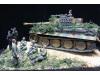 1/72 ドイツ軍TIGAR重戦車と戦車兵・歩兵