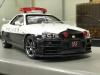 スカイラインR34 拘束道路交通県警隊 埼玉県警 フジミ