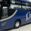 近江鉄道 貸切バス レジェンドブルー フジミ観光バス改造
