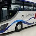 サンデン交通貸切バス フジミ観光バス改造