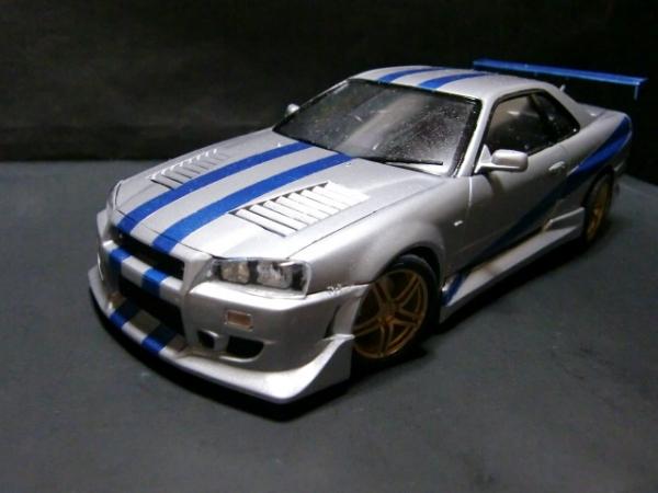 SKYLINE GT-R R34 ワイルドスピード風