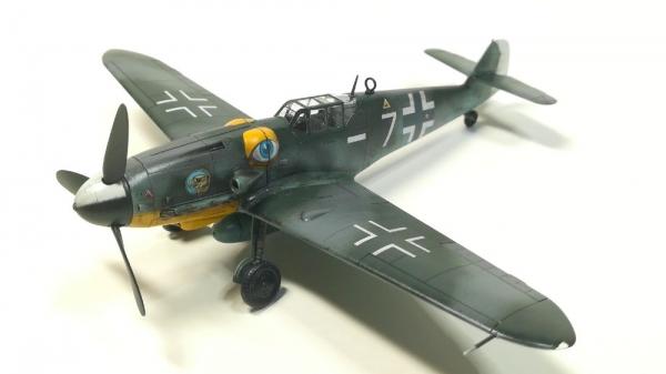タミヤ1/72 メッサーシュミットBf109 G-6