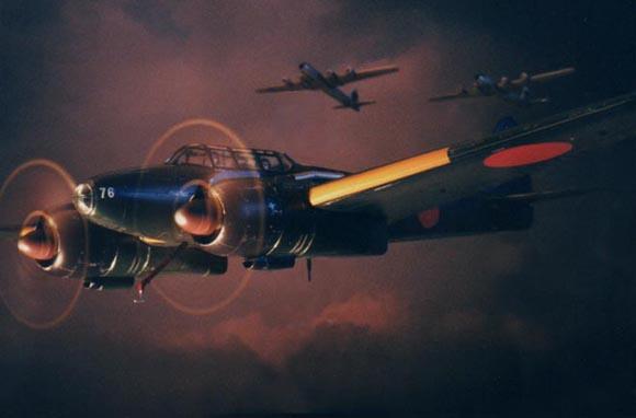 夜間戦闘機月光