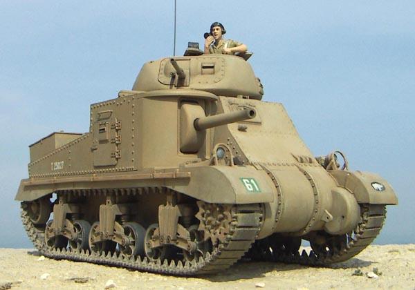 英陸軍M3グラント中戦車