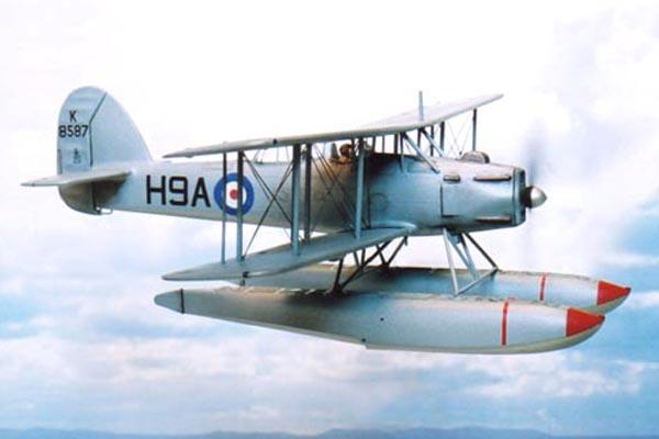フェアリ・シーフォックス水上偵察機
