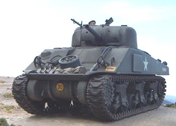英陸軍M4シャーマンI