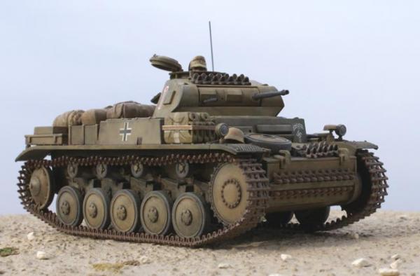 ドイツⅡ号戦車F型