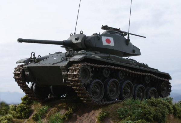 陸上自衛隊M24軽戦車