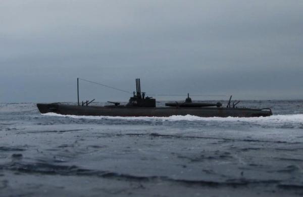 真珠湾に向かう伊号第16潜水艦